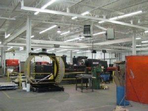 Industrial restoration project afterward.
